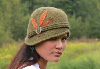handmade felted hats, made in vermont