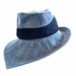 pointed brim fedora