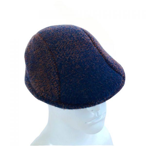 Navy pinch cap