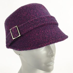 Purple kepi cap