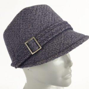 Lilac kepi cap