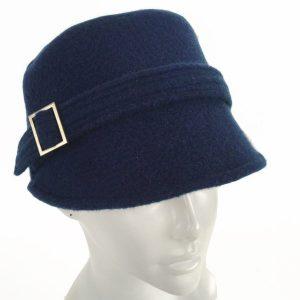 Cobalt blue cap