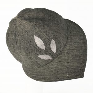 Dark Grey Linen Cloche