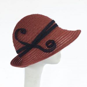 Rust cloche with adjustable band