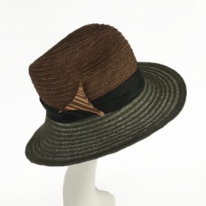 Hemp Braid Fedora Sun Hat