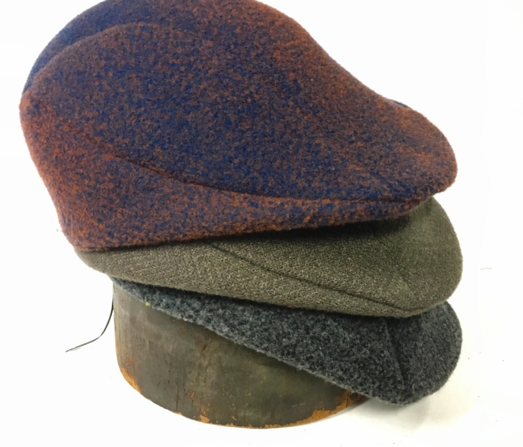 soft wool felt cap