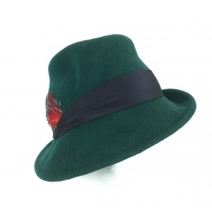 Spring fedora for women