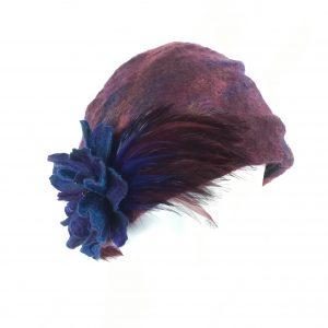 Bohemian rhapsody turban cloche