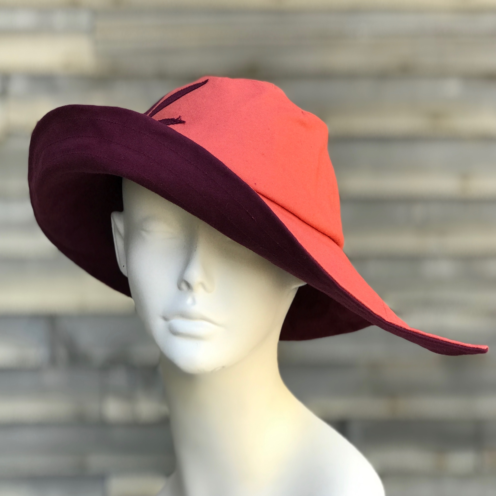 Soigne rain hat sun hat