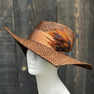 Cutaway straw sun hat