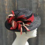 summer straw hat, garden party hat