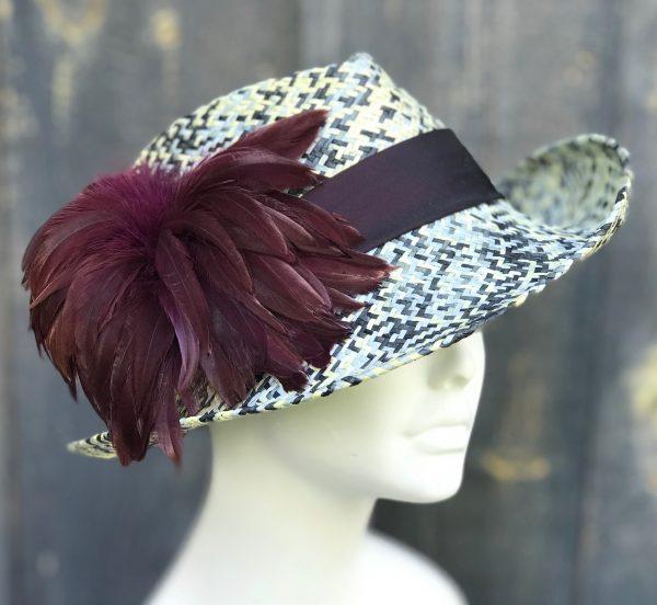 Funky fedora sun hat
