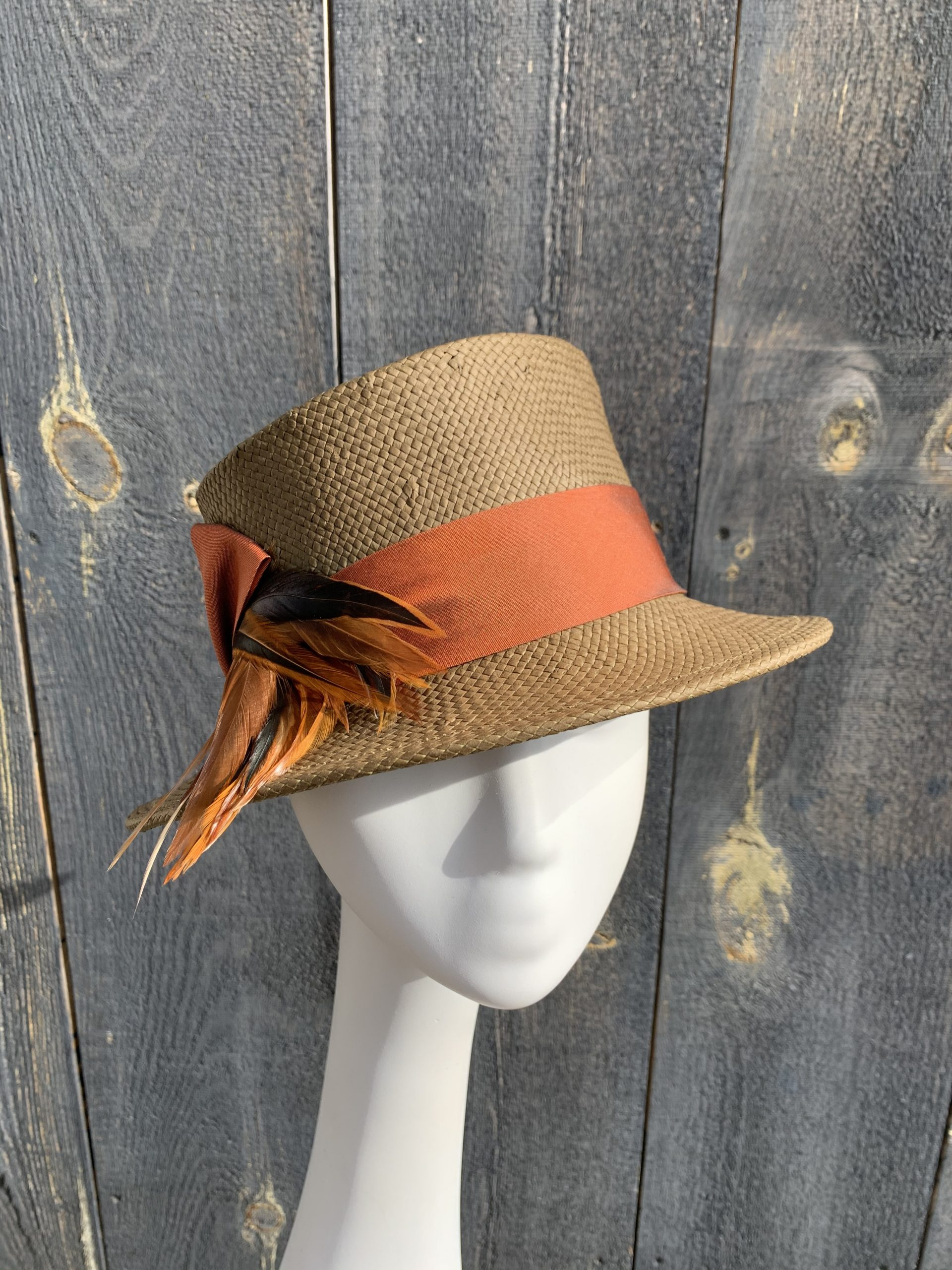 front view of Marlene sun hat