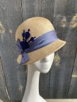 side view natural cloche