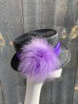 Side view of Marlene top hat